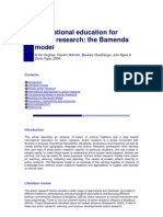 International Education for Action Research