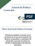 Marco General de Política Curricular para M del P_ FINAL.ppt