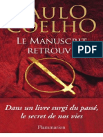 Coelho Paulo - Le_ Manuscrit Retrouve