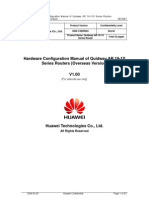 Quidway AR 19-1X Router Hardware Configuration Manual _Overseas Version_V1