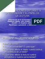 CONSIDERACIONES ENTORNO  A LA EDUCACIÓN Y EL PAPEL