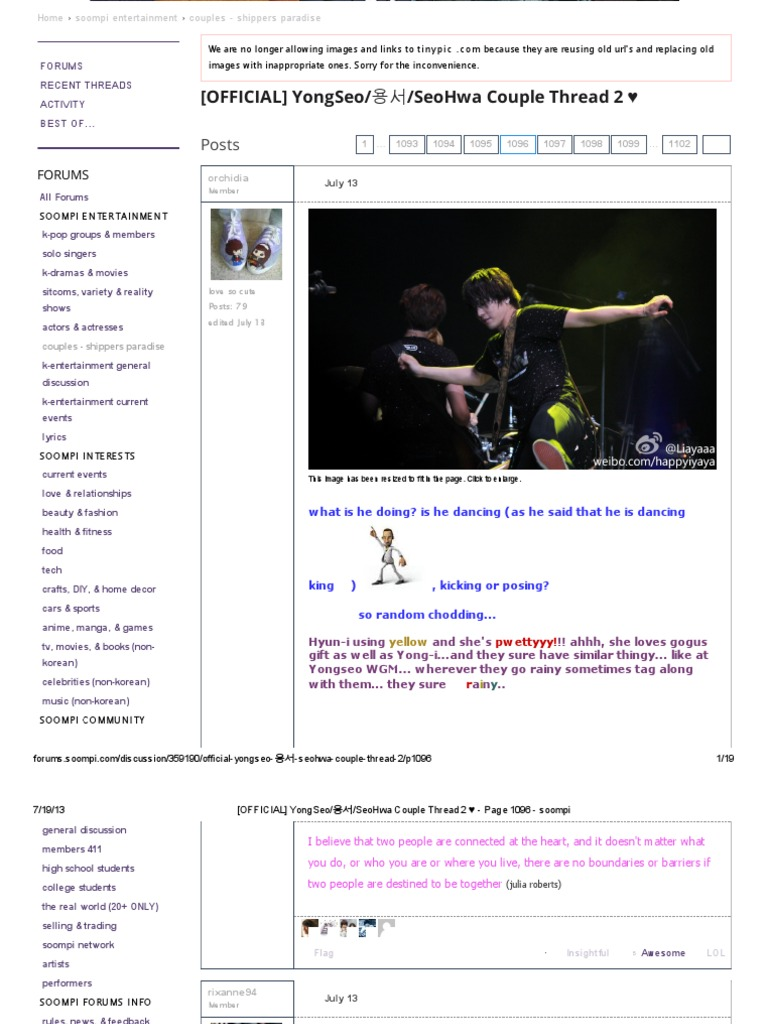 OFFICIAL] YongSeo_용서_SeoHwa Couple Thread 2 ♥ - Page 1096