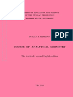 Sharipov Analitic Geometry