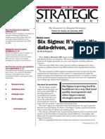 102six Sigma Demaio
