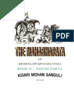 Mahabharata Book 12 Santi Parva
