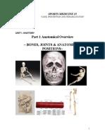 1.1Anatomy Bones,Joints,AndAnatomicalPositions