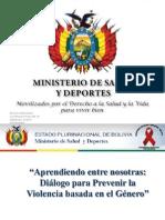 Presentación Programa Nacional de ITS/VIH/SIDA Dra. Carola Valencia