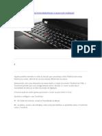 Desabilitando o Touchpad e Habilitando Trackpoint Do X1 e T430s