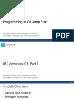 C-Jumpstart Module 5