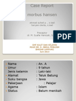 Ppt Cr Morbus Hansen Haryani