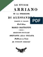 Arriano - Opere Vol.1