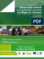 Tabaconas Plan de Ordenamiento Territorial de La Comunidad Campesina San Miguel de Tabaconas- Book