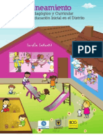 Lineamiento Pedagógico y Curricular para la Educación Incial en el Distrito Capital