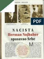 Nacista Herman Nojbaher spasavao Srbe