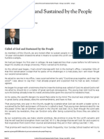 Called of God and Sustained by the People - Ensign June 2012