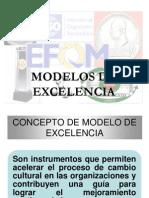 7. Modelos de Excelencia