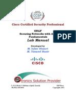 ASA Firewall Lab Manual