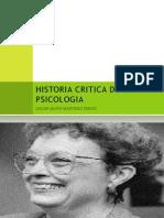 Historia Critica de La Psicologia Primer Grupo de Diapositivas[1]