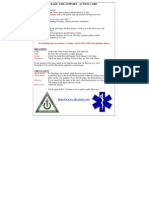 Basic Life Support ACTION CARD