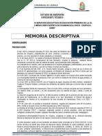 5. Memoria Descriptiva