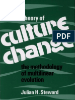 Steward J. Theory of Culture Change