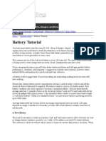 Battery advice