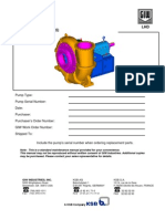 Pump LHD Maintenance Manual