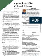 June 2014 CFA L1 MRU Reg Form Nov-Mar