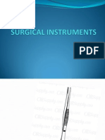Surgical Instruments - Quiz