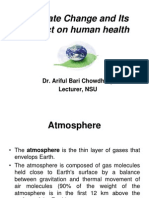 ppt on Climate Change and Its Impact on Human Health