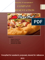 Company Review - Pizza Hut