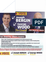 Fair Deal, For Shore with George Wood and Joseph Bergin set out what they are standing for in the October elections for Auckland Council