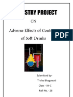 CBSE Class XII Chemistry Project