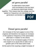 Diesel Gen Parallel