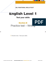 L1 - English - Writing Assessment