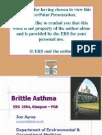 Brittle Asthma