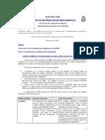 Boletin Nuez de La India- Error Medicamentos 11- 2011