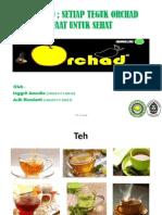 Teh Orchad (Daun Teh, Daun Sukun, Dan Daun Mangga)