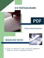 Texto e Textualidade