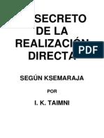 Taimni IK - Secreto de La Realizacion