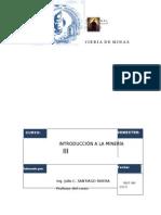 Nuevo Clases de Introduccion a La Mineria 2013