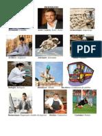 PROFESIONES Y OFICIOS -INGLES ESPAÑOL