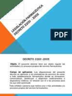 diapositivas decreto 2200