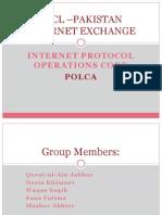 PTCL –PAKISTAN INTERNET EXCHANGE