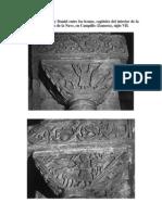 Sacrificio de Isaac y Daniel Entre Los Leones San Pedro de La Nave Siglo VII