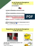 Dispositivo de Parada e Emergencia