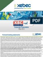 Xebec Adsorption Inc. - Investor Relations