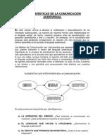 Caracteristicas de La Comunicacion Audiovisual