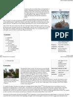 Myst - Wikipedia, The Free Encyclopedia
