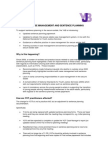 YOT Information Sheet Case Management and Sentence Planning